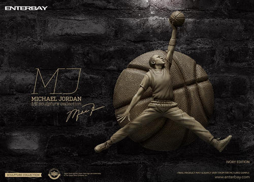 (Enterbay) (Pre-Order) Sculpture Collection - Michael Jordan Ivory Edition (Limited Edition 2000 Pcs Only) 1/6 Scale Figure