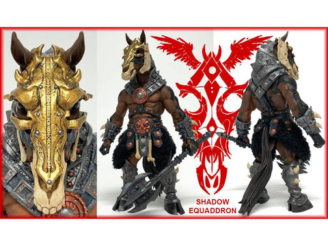 Image of (Four Horsemen) (Pre-Order) Mythic Legions Shadow Equaddron - Deposit Only