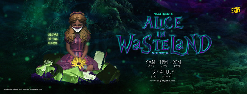 (Mightty Jaxx) (Pre-Order) ALICE IN WASTELAND (ACID EDITION) BY ABCNT - Deposit Only