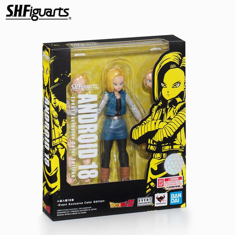 Image of (Bandai) (Pre-Order) SHFiguarts ANDROID 18 -Event Exclusive Color Edition- + DRAGON STARS - Deposit Only