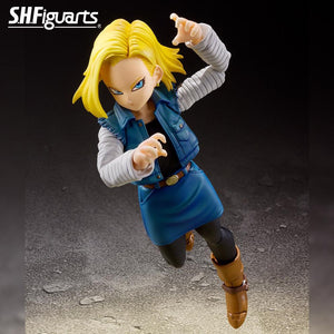 (Bandai) (Pre-Order) SHFiguarts ANDROID 18 -Event Exclusive Color Edition- + DRAGON STARS - Deposit Only