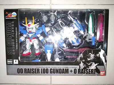 Image of Bandai Sdgo Sd Gundam 00 Raiser Capsule Fighter Action Figure