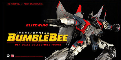 Image of (3A/ZERO) (Pre-Order) 10inch DLX Scale BLITZWING Action Figure - Bumblebee Movie - Deposit Only
