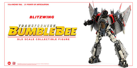 (3A/ZERO) (Pre-Order) 10inch DLX Scale BLITZWING Action Figure - Bumblebee Movie - Deposit Only