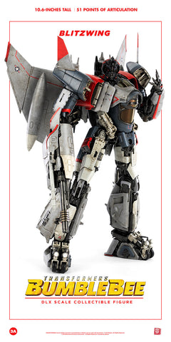 Image of (3A/ZERO) 10inch DLX Scale BLITZWING Action Figure - Bumblebee Movie