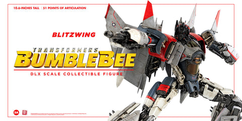 (3A/ZERO) 10inch DLX Scale BLITZWING Action Figure - Bumblebee Movie