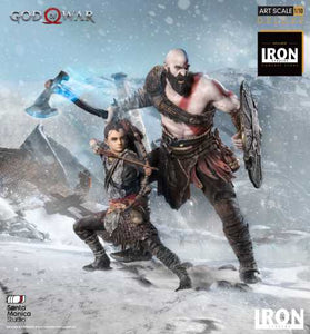 (Iron Studios) Kratos and Atreus Deluxe Art Scale 1/10 - God of War