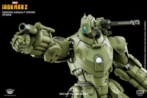 (KING ARTS) 19 GROUND ASSAULT DRONE