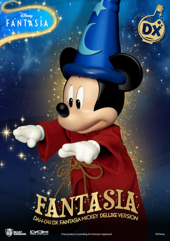 Image of (Beast Kingdom) (Pre-Order) DAH-041DX Disney Classic Mickey Fantasia Deluxe Version - Deposit Only