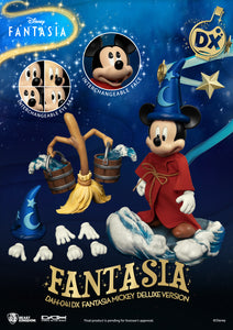 (Beast Kingdom) (Pre-Order) DAH-041DX Disney Classic Mickey Fantasia Deluxe Version - Deposit Only