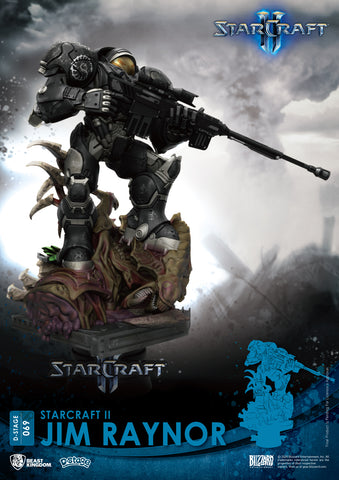 Image of (Beast Kingdom) (Pre-Order) Starcraft II D-Stage DS-069 Jim Raynor Statue  - Deposit Only