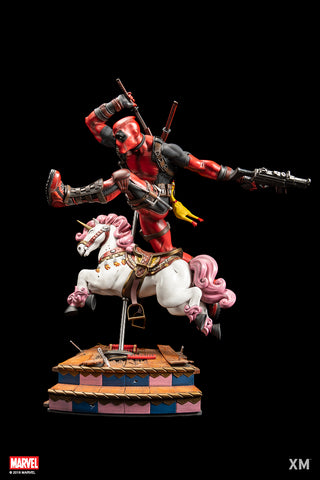Image of (XM Studios) (Pre-Order) Deadpool Ver. A 1/4 Scale Premium Collectible Statue