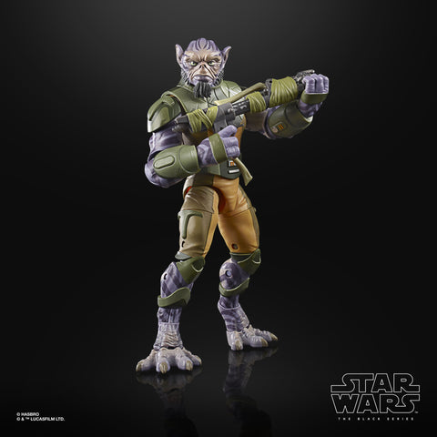 Image of (Hasbro) Star Wars The Black Series Garazeb Zeb Orrelios Deluxe Figure