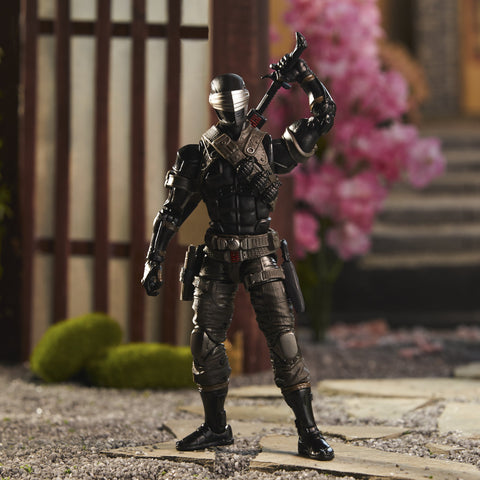 Image of Hasbro GI Joe Classified Series Snake Eyes Deluxe 6 inch Figure