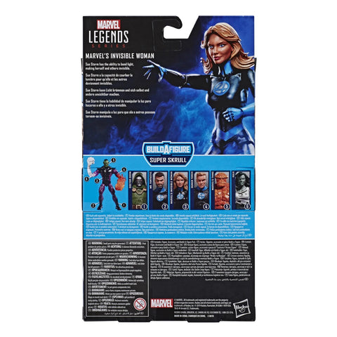 Image of (Hasbro) Marvel Legends Marvel's Invisible Woman - Super Skrull Build a Figure