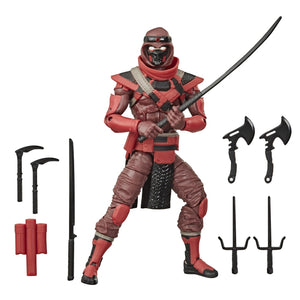 (Hasbro) (Pre-Order) GI JOE Classified Collection Classic Red Ninja 6 Inch Action Figure - Deposit Only