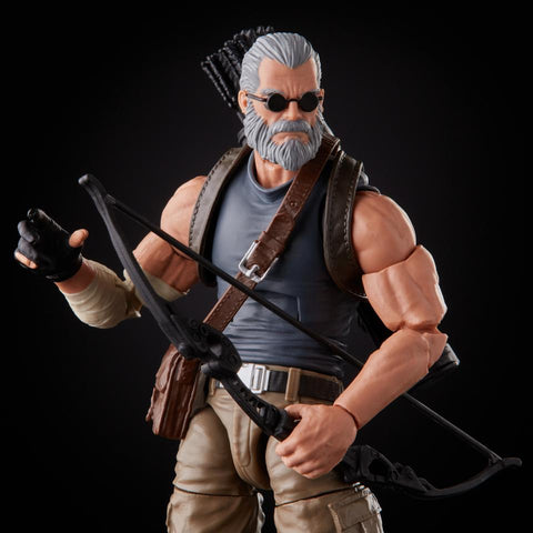 Image of (Hasbro) Marvel Legends Fox X-Men Old Man Logan & Hawkeye 2 Pack 6 Inch Action Figure