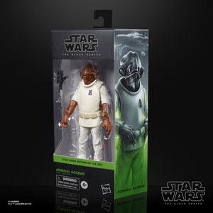 (Hasbro) Star Wars The Black Series Admiral Ackbar Collectible Figure