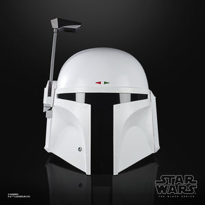 (Hasbro) (Pre-Order) Star Wars The Black Series Boba Fett (Prototype Armor) Electronic Helmet  -Deposit Only