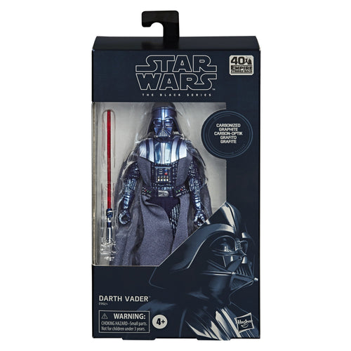 (Hasbro) (Pre-Order) Star Wars The Black Series Carbonized Collection Darth Vader Figure - Deposit Only