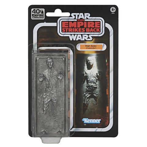 (Hasbro) Star Wars The Black Series Han Solo (Carbonite) Figure