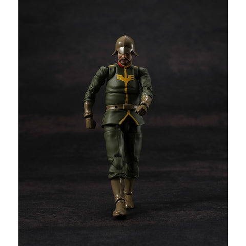 Image of (MegaHouse) (Pre-Order) G.M.G. Mobile Suit Gundam Principality of Zeon Army Soldier 02 - Deposit Only
