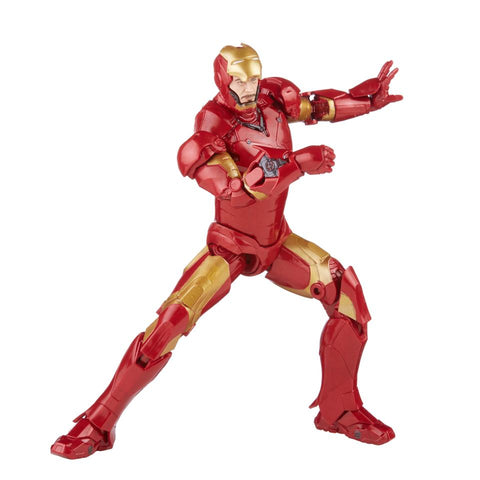 (Hasbro)(Pre-Order) Marvel Legends Infinity Saga Iron Man Mark III 6 Inch Action Figure - Deposit Onnly