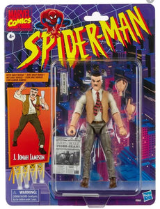 (Hasbro) Marvel Legends Spider-Man Retro J Jonah Jameson 6 Inch Action Figure