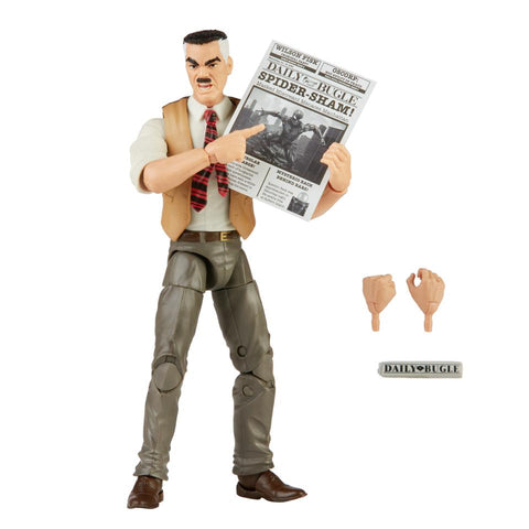 Image of (Hasbro) Marvel Legends Spider-Man Retro J Jonah Jameson 6 Inch Action Figure