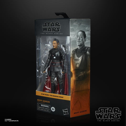 (Hasbro) Star Wars The Black Series Wave 3 Moff Gideon 6 Inch Action Figure