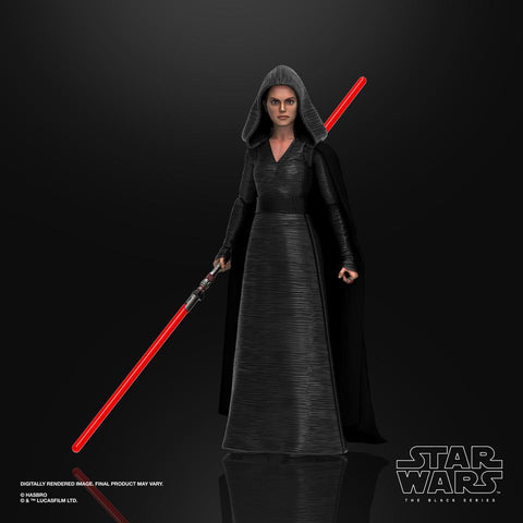 Image of (Hasbro) Star Wars The Black Series Dark Side Rey 6 Inch Action Figure