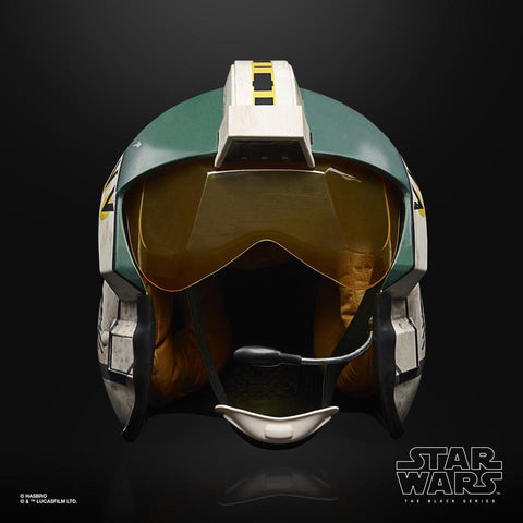 (Hasbro) (Pre-Order) Star Wars Black Series Roleplay Wedge Antilles Helmet Roleplay  - Deposit Only