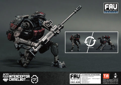Image of (Toys Alliance) (Pre-Order) FAV-A30  Interceptor Camelbot HR52e - Deposit Only