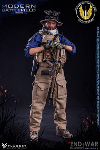 "(FLAGSET) (PRE-ORDER) 1/6 73031 modern battlefield END WAR ""A"" - DEPOSIT ONLY"