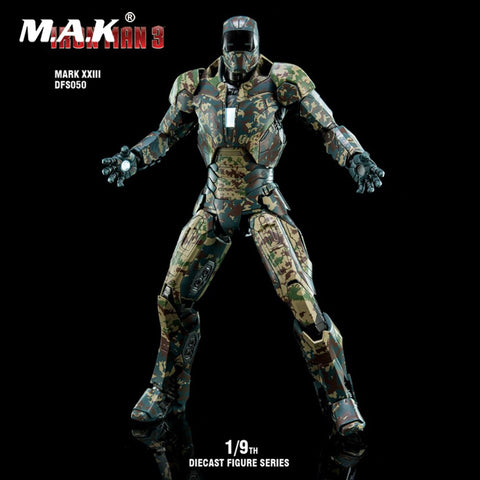 (King Arts) (Pre-Order) Iron Man Mark 23 - 1/9 Scale Diecast Figure DFS050 - Deposit Only