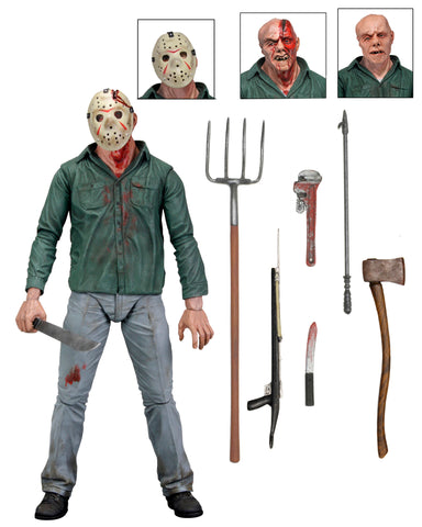 "Image of (Neca) Friday the 13th Part 3  - 7"" Action Figure - Ultimate Jason"