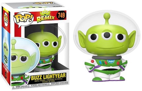 Image of (Funko Pop)POP DISNEY: PIXAR ALIEN REMIX – BUZZ LIGHTYEAR with Free Protector