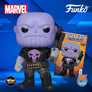 (Funko Pop) (Pre-Order) Marvel Heroes Earth-18138 6-Inch Pop! Vinyl Figure and Guardians of the Galaxy #9 Variant Comic - Previews Exclusive - Deposit Only