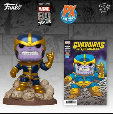 (Funko Pop) Thanos Snap 6-Inch Exclusive Pop! Vinyl Figure (PX Exclusive)