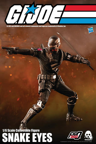 Image of (ThreeZero) (Pre-Order) G.I. Joe – Snake Eyes 1/6 Scale - Deposit Only