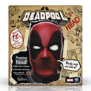 (Hasbro) (Pre-Order) Marvel Legends Deadpool's Premium Interactive Head - Deposit Only
