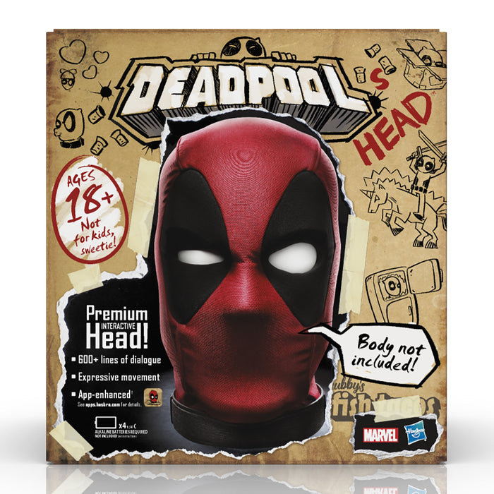(Hasbro) Marvel Legends Deadpool's Premium Interactive Head