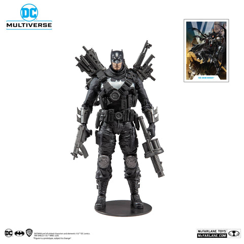 "(Mc Farlane) DC MULTIVERSE 7"" ACTION FIGURE - DARK NIGHTS METAL - GRIM KNIGHT"