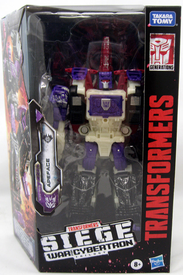 (Hasbro) Transformers Apeface Siege War for Cybertron