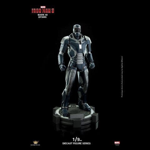 (King Arts) (Pre-Order) Iron Man Mark 40 - 1/9 Scale Diecast Figure DFS005 - Deposit Only