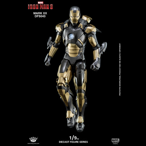 (King Arts) (Pre-Order) Iron Man Mark 20 - 1/9 Scale Diecast Figure DFS043 - Deposit Only