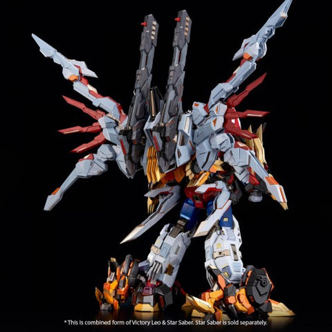 Image of (Flame Toys) (Pre-Order) '[Kuro Kara Kuri] Victory Leo EX Exclusive with Cannons Bonus Parts - Deposit Only
