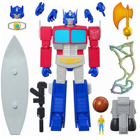 Image of (Super7) (Pre-Order) Transformers Ultimates Optimus Prime 7-Inch Action Figure - Deposit Only