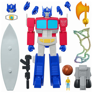 (Super7) (Pre-Order) Transformers Ultimates Optimus Prime 7-Inch Action Figure - Deposit Only