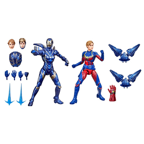 (Hasbro)(Pre-Order) Marvel Legends Infinity Saga Rescue and Captain Marvel 2 Pack - Deposit Onnly
